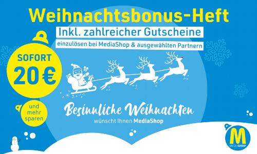 MediaShop Gutscheinheft