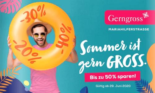 Gerngross Sommer-Gutscheinheft 2020