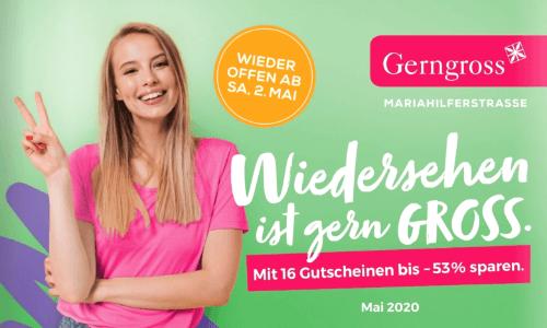 Gerngross Frühjahr-Gutscheinheft 2020