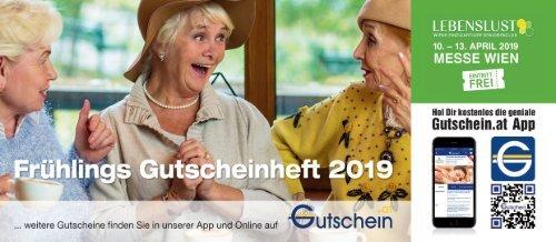 Frühlings-Gutscheinheft 2019