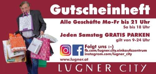 Lugner City Gutscheinheft 2018