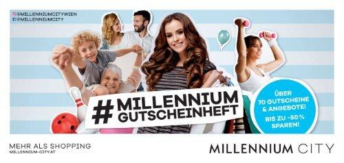 Millennium Gutscheinheft 2018
