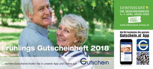 Frühlings-Gutscheinheft 2018