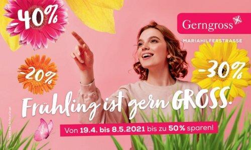 Gerngross Frühjahr-Gutscheinheft 2021