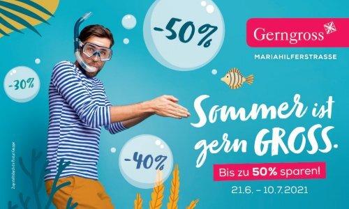 Gerngross Sommer-Gutscheinheft 2021