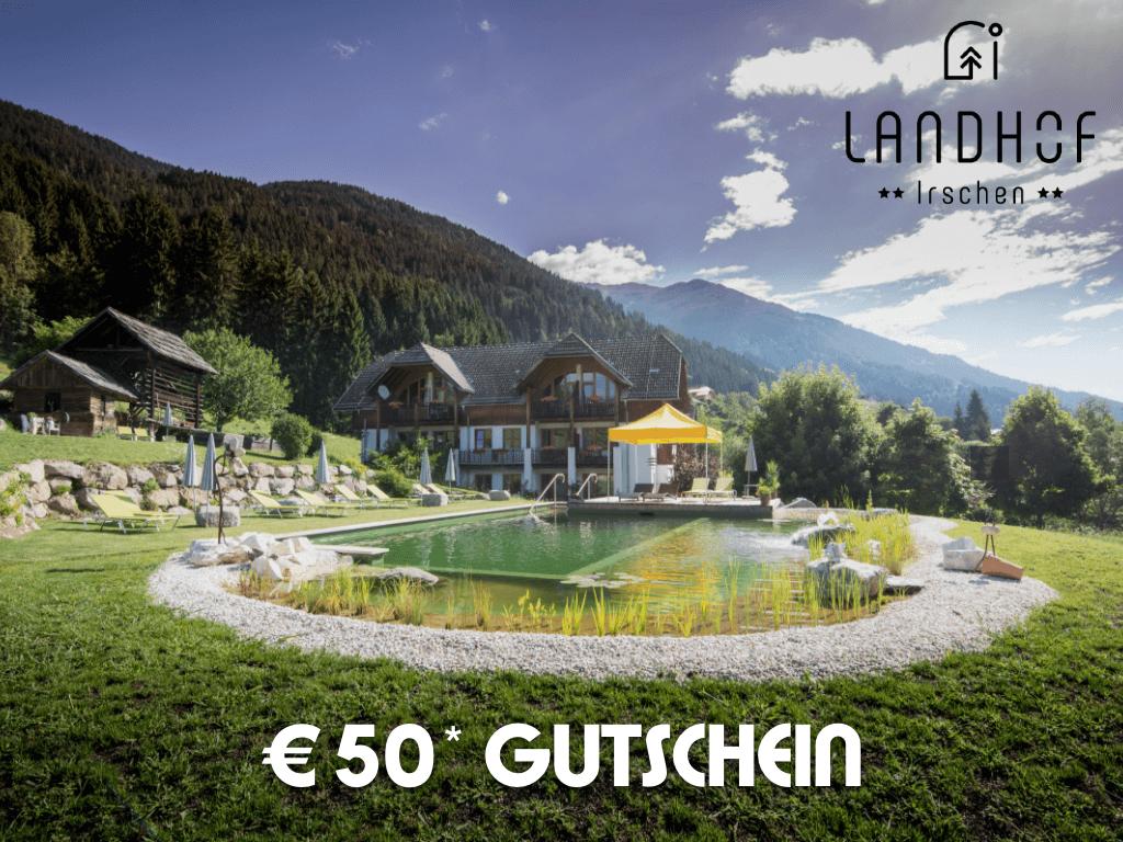 50 EUR Gutschein!