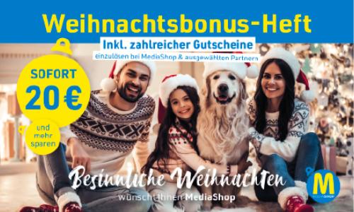 MediaShop Gutscheinheft 2021